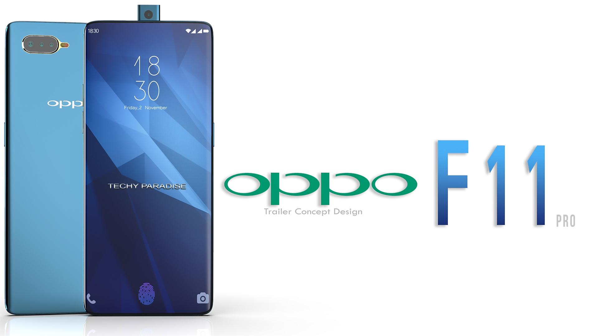 Oppo F11 Pro Concept