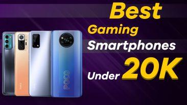 Top 5 Gaming Smartphones under 20000 June 2021